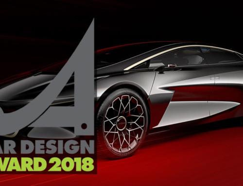 CAR DESIGN AWARD, ECCO I FINALISTI DELL'EDIZIONE 2018