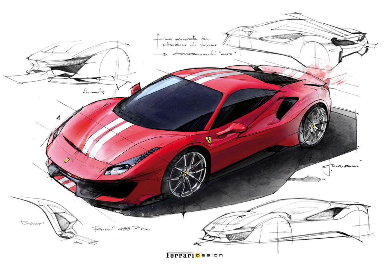 Ferrari 812 Superfast e 488 Pista
