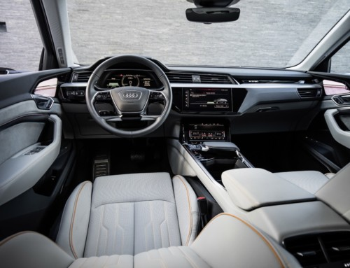 AUDI E-TRON PROTOTYPE, THE INTERIORS