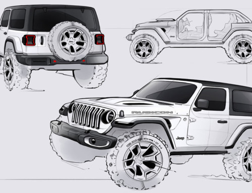 JEEP WRANGLER, A VERY SERIOUS PLAYTHING