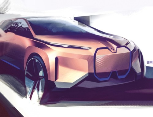 BMW VISION iNEXT, AUTHORITATIVE FUTURE