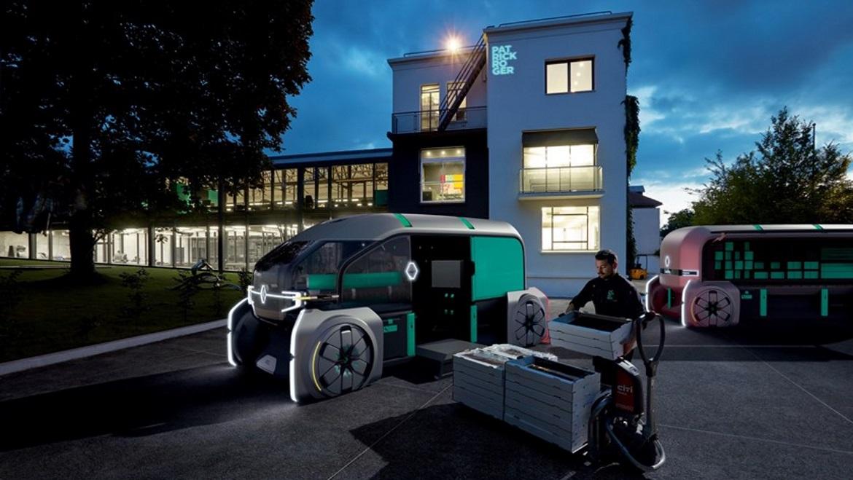renault ez pro last mile delivery concept auto design