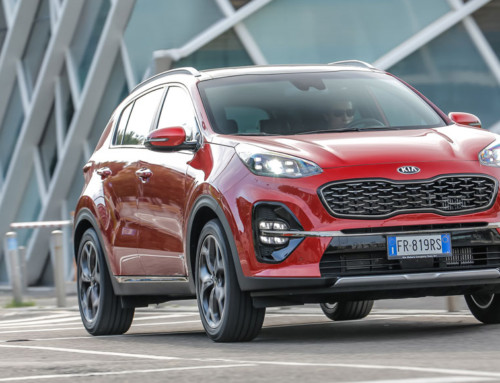 KIA SPORTAGE, IN THE SIGN OF DYNAMISM
