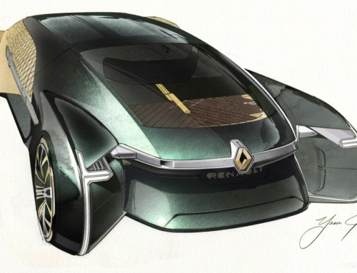 RENAULT EZ-ULTIMO, UNA CARROZZA 2.0