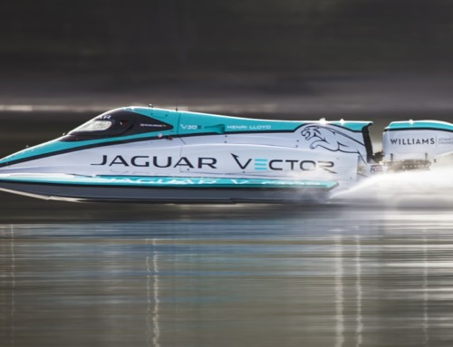 JAGUAR VECTOR RACING, A NEW MARITIME RECORD OF SPEED
