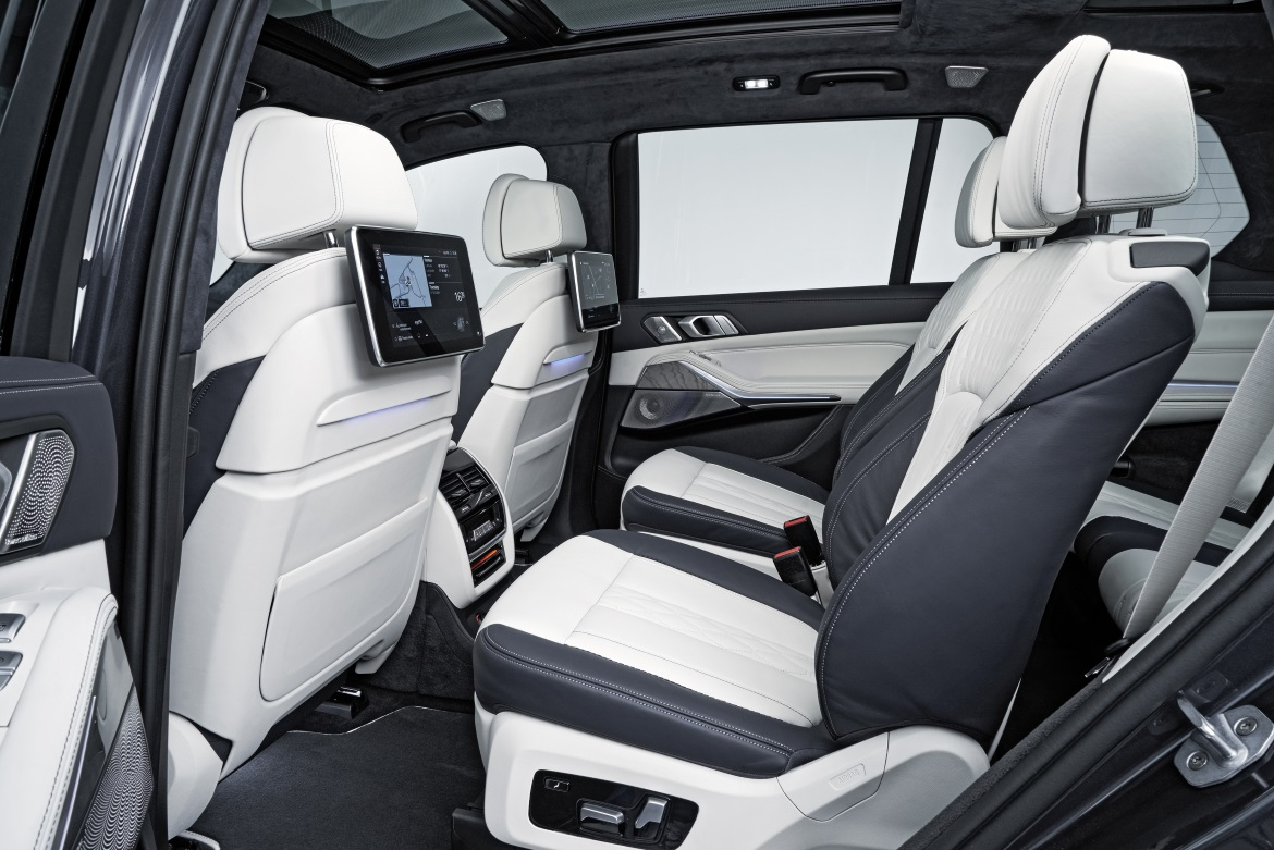 BMW X7, LUXURIOUS SPACE - Auto&Design