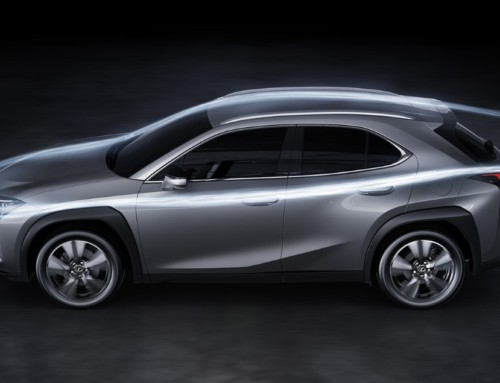 LEXUS UX, THE IMPORTANCE OF AERODYNAMICS