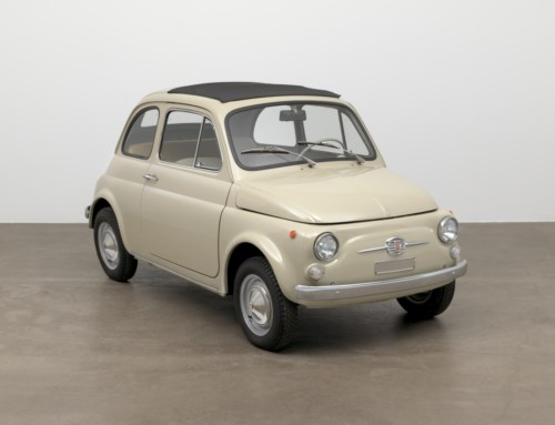 THE FIAT 500 F AT MOMA