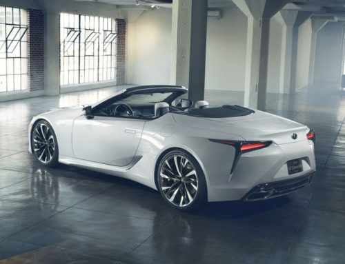 LEXUS LC CONVERTIBLE, OPEN AIR SCULPTURE