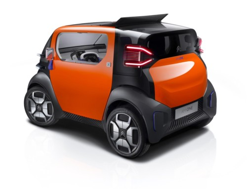 CITROËN AMI ONE, URBAN MOBILITY FUTURE