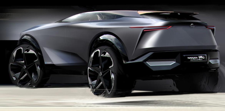 NISSAN IMQ, ELECTRIC CROSSOVER - Auto&Design