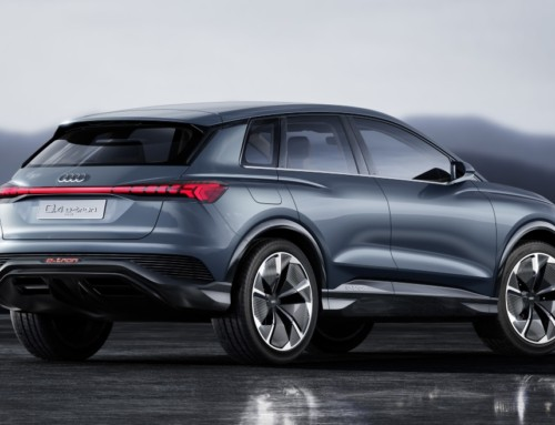 AUDI Q4 E-TRON, A JUMP INTO THE FUTURE