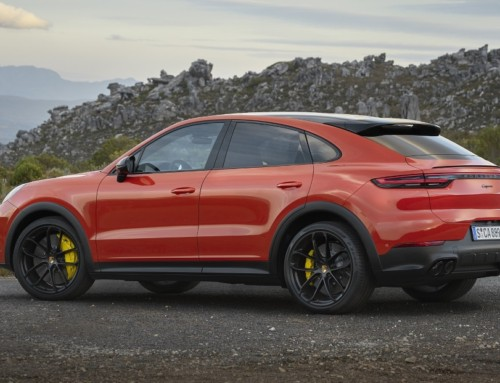 PORSCHE: CAYENNE BECOMES COUPE'