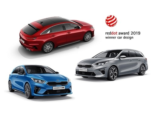 RED DOT AWARDS FOR KIA CEED FAMILY