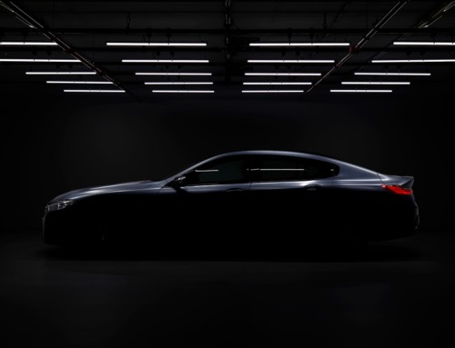 BMW 8 SERIES GRAN COUPE' FIRST TEASER