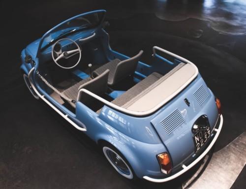 FIAT 500 JOLLY ICON-E, SPIAGGINA ELETTRICA
