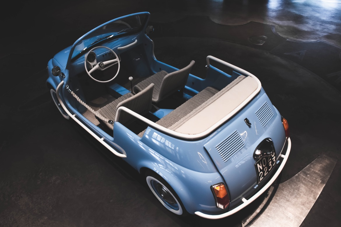 Fiat 500 Jolly Icon E Electric Spiaggina Auto Design