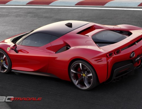 FERRARI SF90 STRADALE, ORGANIC POWER