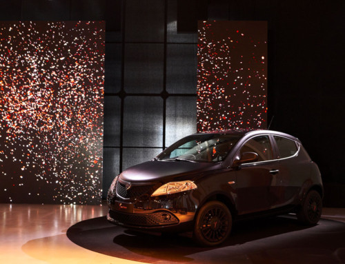 "LANCIA YPSILON ALL THE CHARM OF ""BLACK AND NOIR"""
