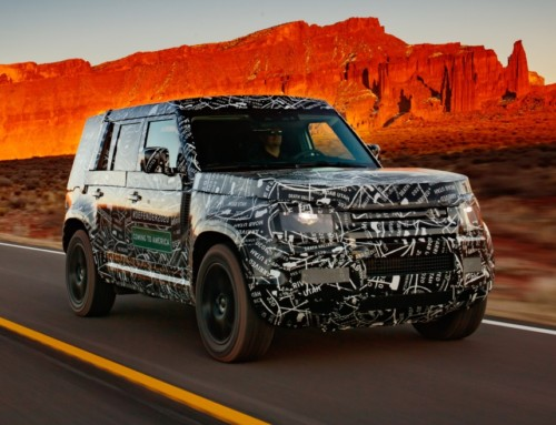 LAND ROVER DEFENDER FIRST DETAILS