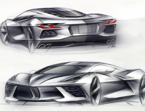 CORVETTE C8 STINGRAY, DESIGN AERONAUTICO