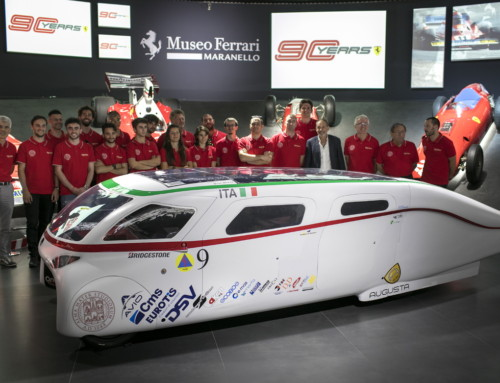 SOLAR CHALLENGE VEHICLES AT MUSEO FERRARI