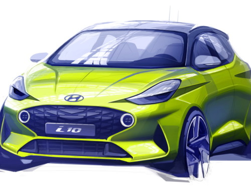 HYUNDAI i10 FIRST SKETCH