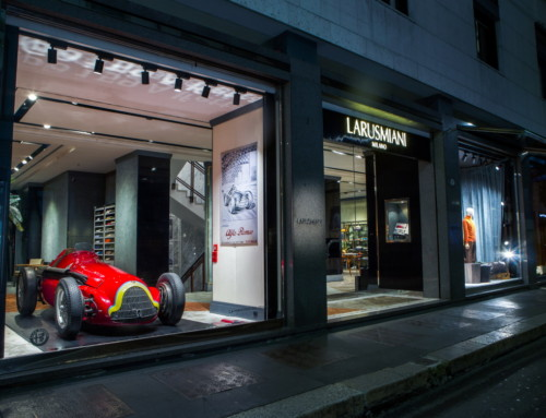 ALFA ROMEO AND LARUSMILANI UNITE FOR THE MADE IN ITALY
