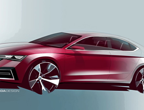 ŠKODA OCTAVIA FIRST SKETCHES