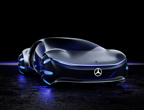 MERCEDES-BENZ AVTR, FOUR-WHEELED AVATAR