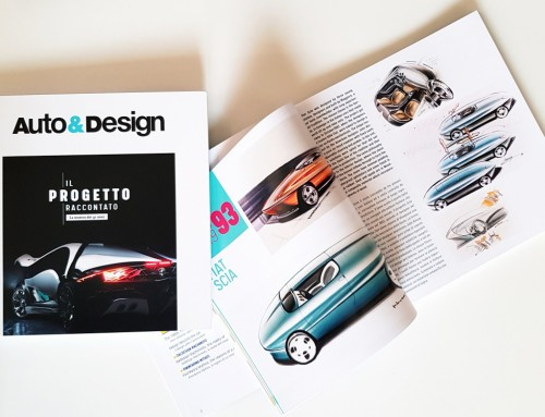AUTO&DESIGN, 40 ANNI DI CAR DESIGN IN UN LIBRO