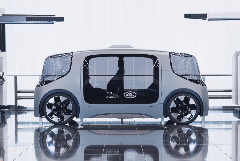 Project Vector Jaguar Land Rover vista laterale
