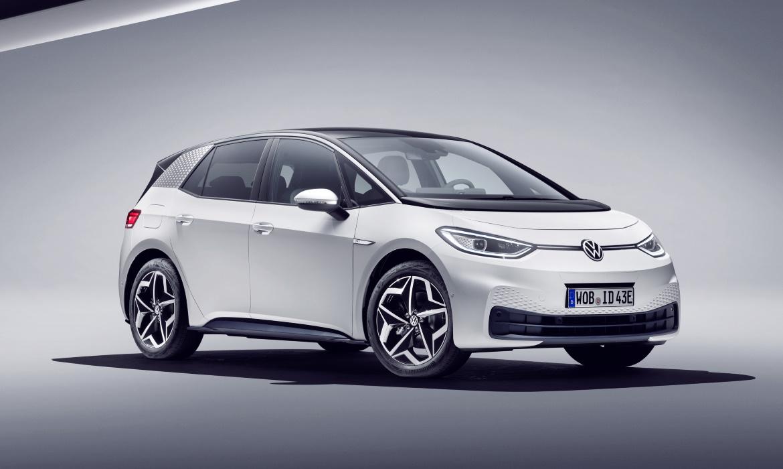 Volkswagen ID.3, vettura finale bianca