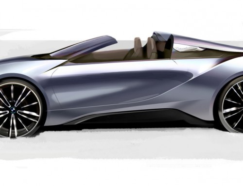 BMW i8: DOMAGOJ DUKEC ILLUSTRATES THE OUTGOING MODEL