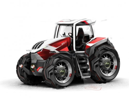 STEYR KONZEPT, TRACTOR OF THE FUTURE