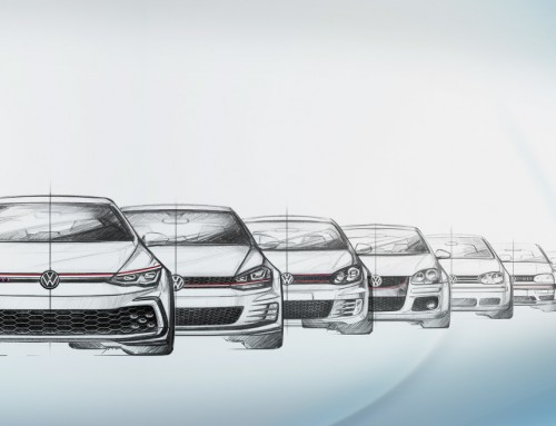 VOLKSWAGEN GOLF GTI, THE DESIGN OF THE EIGHT GENERATIONS