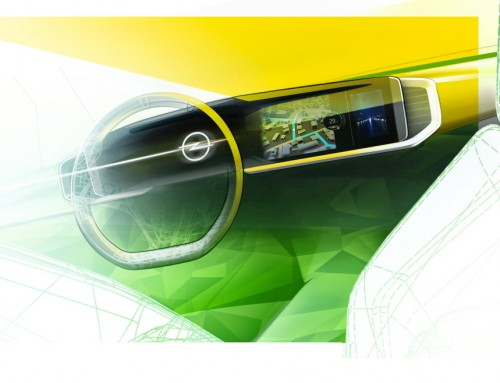 OPEL MOKKA PURE PANEL FIRST SKETCH