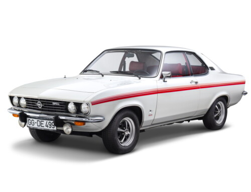 THE OPEL MANTA TURNS FIFTY