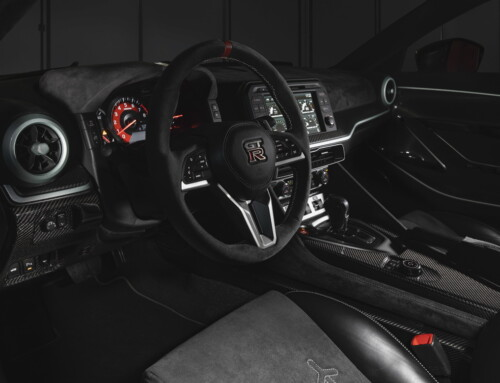 NISSAN GT-R50 BY ITALDESIGN, ALCANTARA INTERIOR