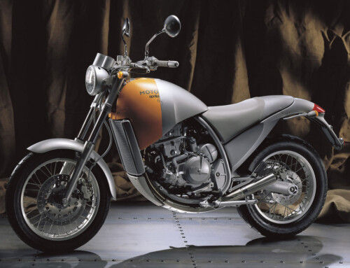 APRILIA MOTÒ 6.5 BY PHILIPPE STARCK, IN PURSUIT OF AN ICON