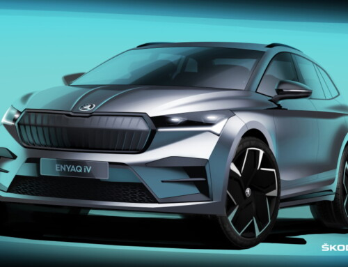 ŠKODA ENYAQ iV FIRST SKETCHES