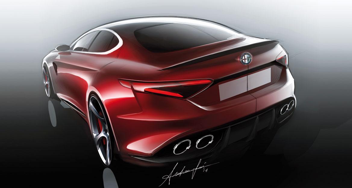 Alfa Romeo Giulia A Renaissance Of Pride Auto Design