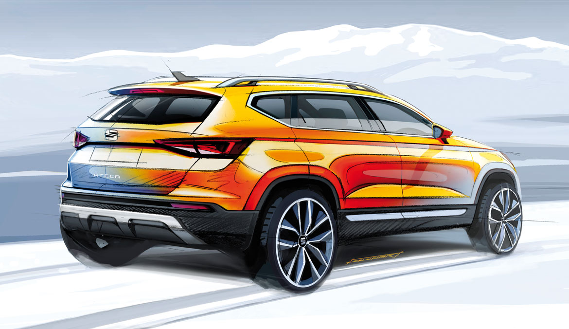 Seat Ateca A Suv In The Family Auto Design