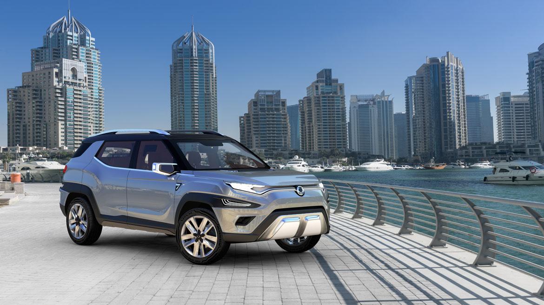 Xavl concept anticipa il futuro suv medio ssangyong auto for Futuro del classico