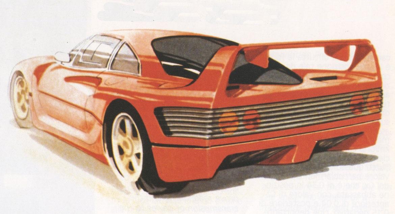 Design History Ferrari F40 Auto Design