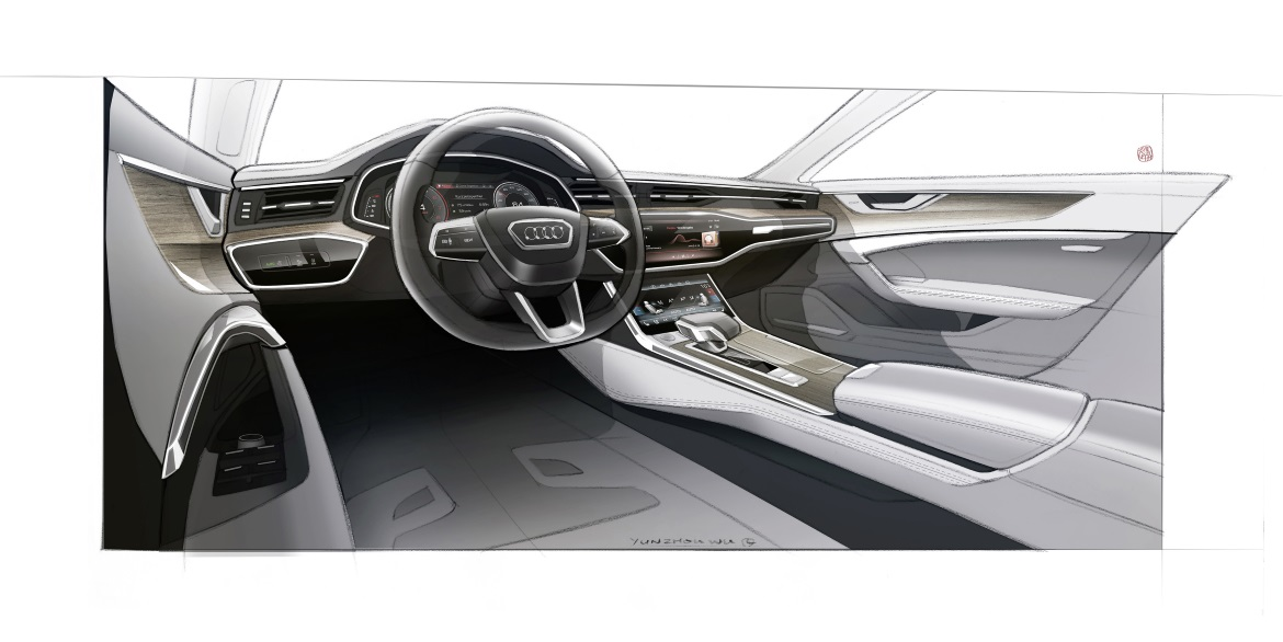 Audi A7 Sportback Dynamic Lines And Sporty Driving Experience Auto Design