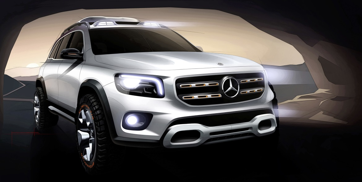 MERCEDES GLB CONCEPT, COMPACT EFFICIENCY
