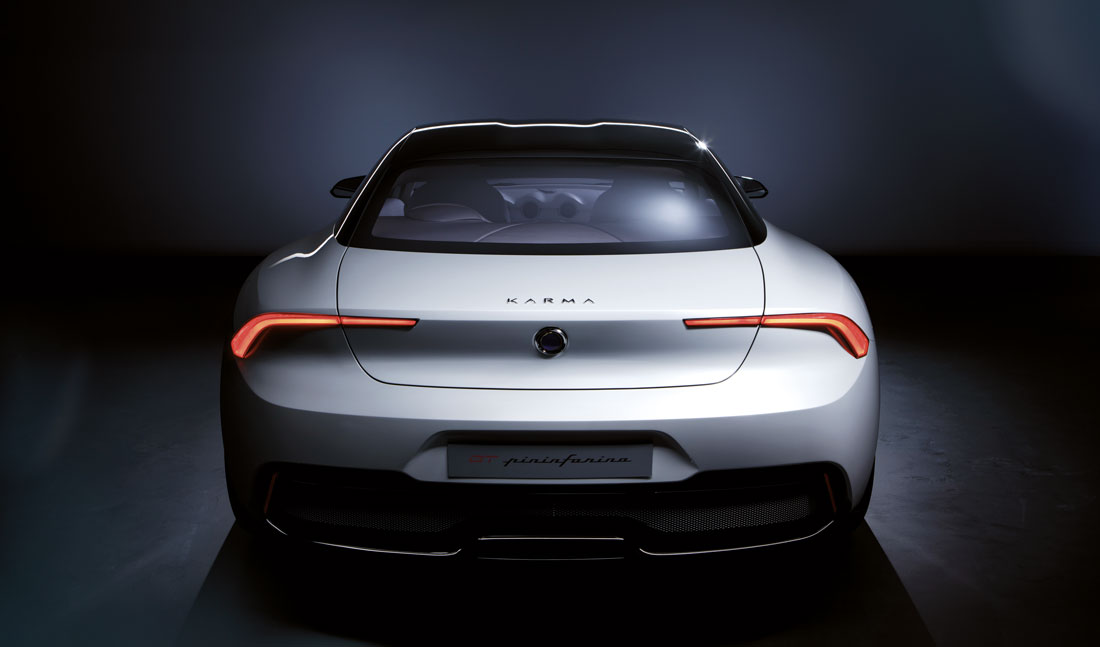 PININFARINA KARMA GT, DREAMING OF CALIFORNIA