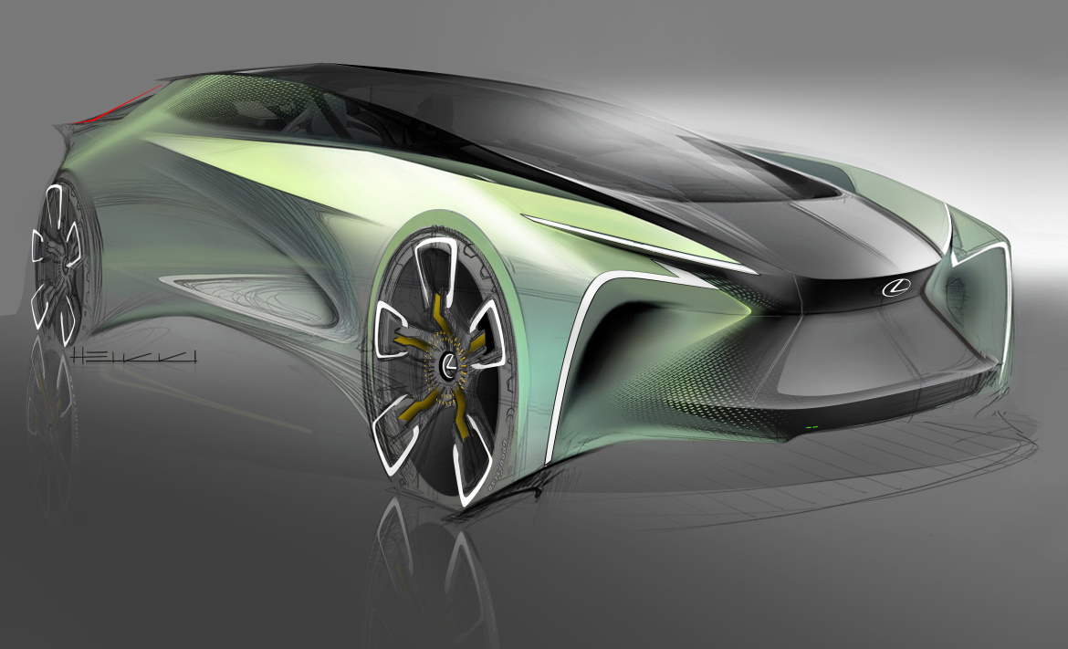 LEXUS LF-30: AUTONOMOUS, ELECTRIC CROSSOVER FOR THE FUTURE