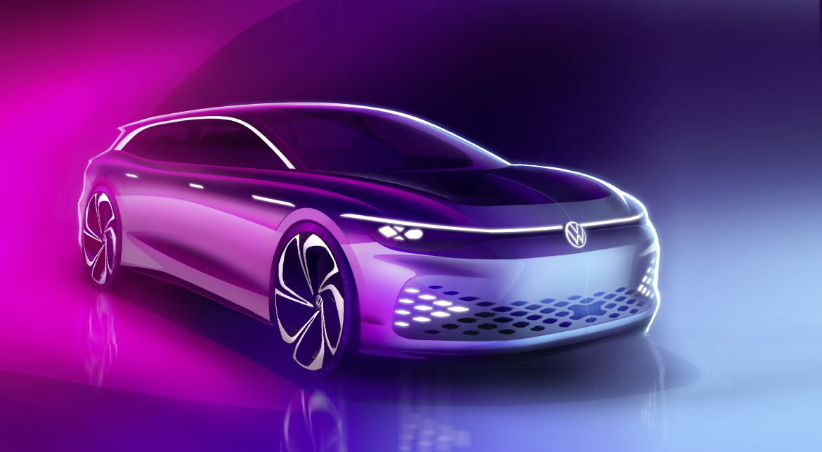 VOLKSWAGEN ID. SPACE VIZZION, GT OF THE FUTURE